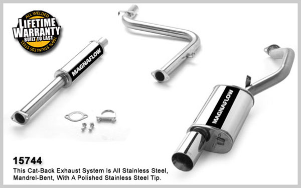 Magnaflow 15744:  Exhaust System for MITSUBISHI ECLIPSE GTS 2003-2005