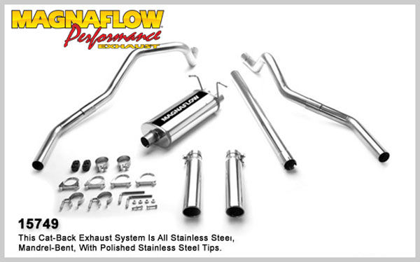 Magnaflow 15749:  Exhaust System for FORD F-150 1997-2003