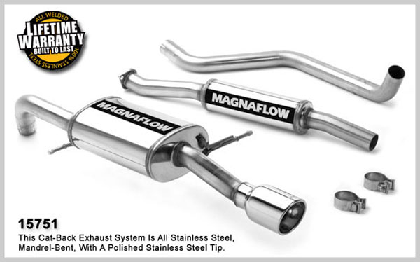 Magnaflow 15751:  Exhaust System for MAZDA PROTEGE MP3 2001