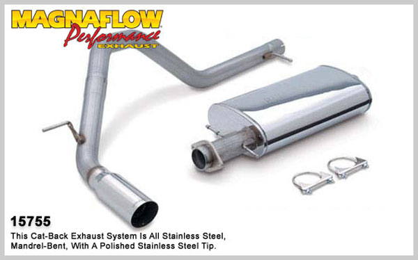 Magnaflow 15755:  Exhaust System for FORD EXPEDITION / LINCOLN NAVIGATOR 2003-2006