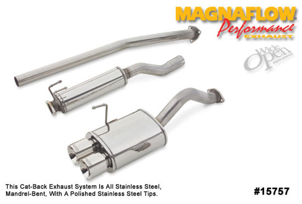 Magnaflow 15757:  Exhaust System for HONDA CIVIC SI 2002-2005
