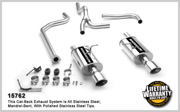 Magnaflow 15762:  Exhaust System for CAVALIER / SUNFIRE LS 1995-2005