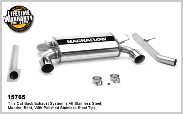 Magnaflow 15765:  Exhaust System for NISSAN 350Z 2003-2006