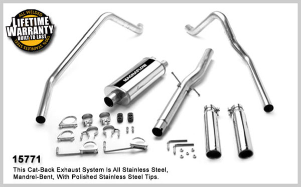 Magnaflow 15771:  Exhaust System for DODGE RAM 1500 TRUCK 1998-2001