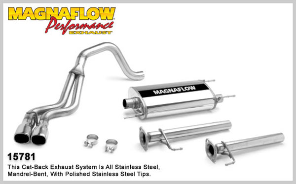 Magnaflow 15781:  Exhaust System for TOYOTA 4-Runner 2003-2006