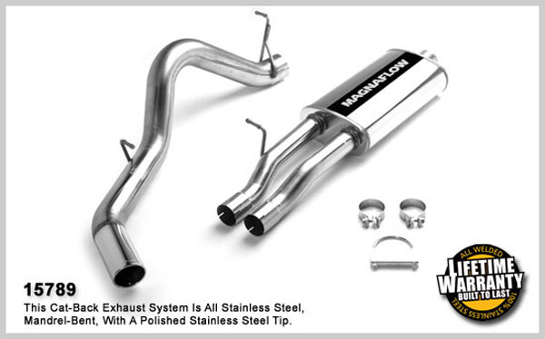 Magnaflow 15789:  Exhaust System for GM SILVERADO/SIERRA 2500 HD 2003-2007