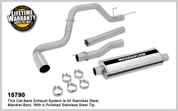 Magnaflow 15790:  Exhaust System for DODGE RAM 2500 TRUCK 2003