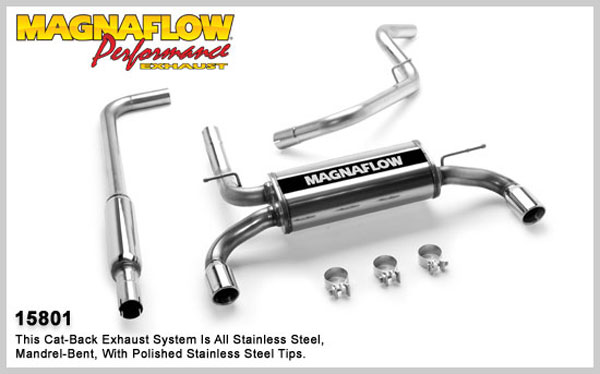 Magnaflow 15801:  Exhaust System for DODGE NEON 2000-2005