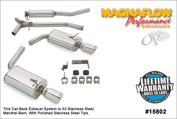 Magnaflow 15802:  Exhaust System for MAZDA 6 2003-2006