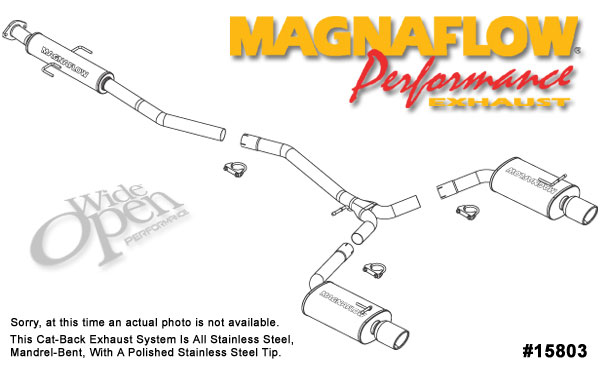 Magnaflow 15803:  Exhaust System for MAZDA 6 2003-2006