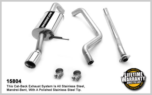 Magnaflow 15804:  Exhaust System for MAZDA PROTEGE MAZDASPEED 2003