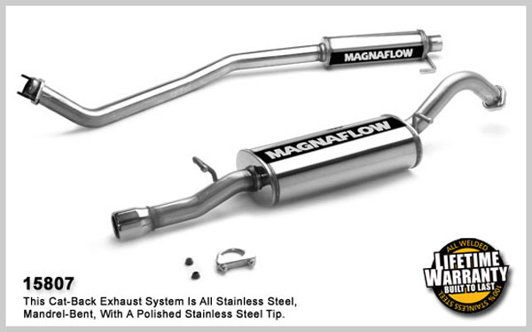 Magnaflow 15807:  Exhaust System for TOYOTA COROLLA 2003-2006