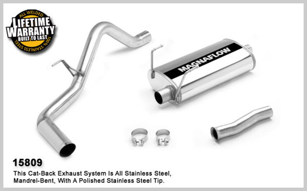 Magnaflow 15809:  Exhaust System for TOYOTA TUNDRA 2000-2006