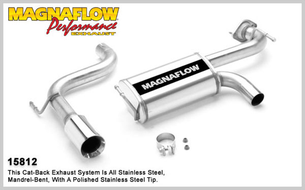 Magnaflow 15812:  Exhaust System for TOYOTA CELICA GTS 2001-2005