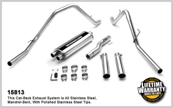 Magnaflow 15813:  Exhaust System for DODGE RAM 1500 TRUCK 2002-2003