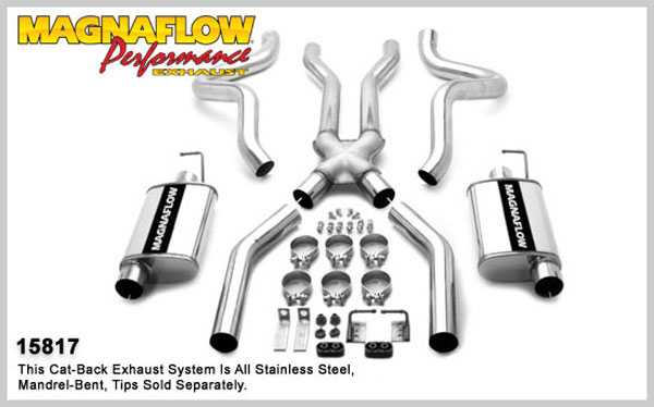 Magnaflow 15817:  Exhaust System for FORD MUSTANG V8 1964-1966