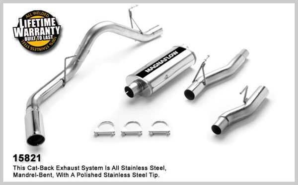 Magnaflow 15821:  Exhaust System for FORD F-150 2004