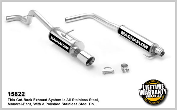 Magnaflow 15822:  Exhaust System for SCION XB 2004-2006