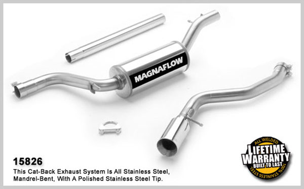 Magnaflow 15826:  Exhaust System for FORD FOCUS ZX3 2004-2006