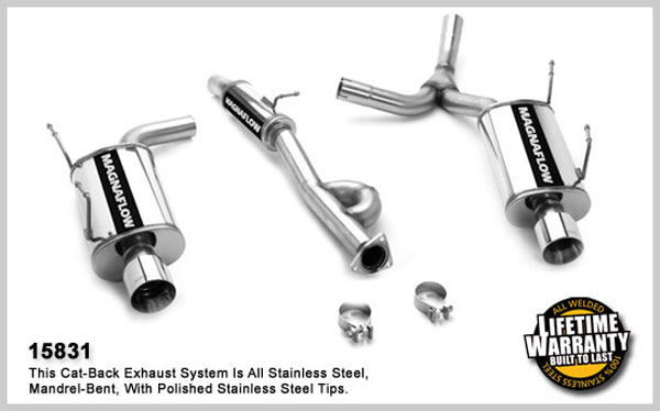Magnaflow 15831:  Exhaust System for HONDA S2000 2001-2005