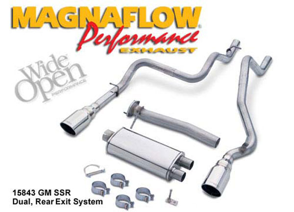 Magnaflow 15843:  Exhaust System for GM SSR 2003-2006
