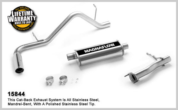Magnaflow 15844:  Exhaust System for GM COLORADO / CANYON 2004-2007