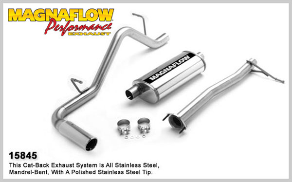 Magnaflow 15845:  Exhaust System for GM COLORADO / CANYON 2004-2008