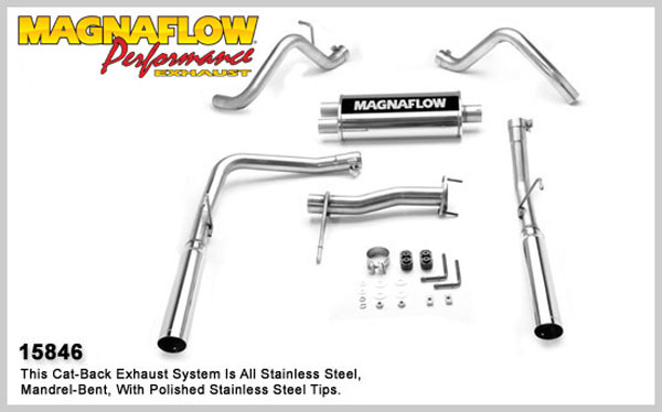Magnaflow 15846:  Exhaust System for GM COLORADO / CANYON 2004-2007