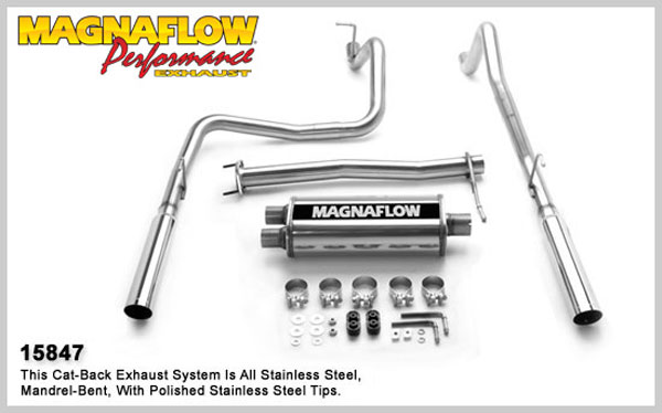 Magnaflow 15847:  Exhaust System for 2004 GM Colorado / Canyon EC-CC Dua