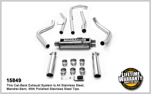 Magnaflow 15849:  Exhaust System for NISSAN TRUCK TITAN 2004-2006
