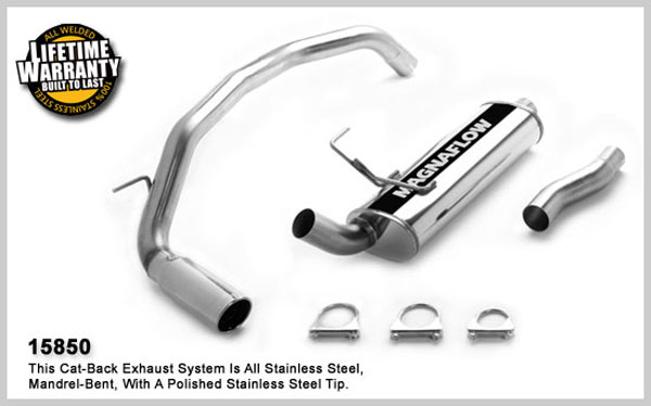 Magnaflow 15850:  Exhaust System for System C/B 2003- Nissan Armada 5.6L