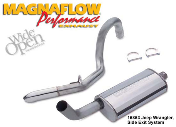 Magnaflow 15853:  Exhaust System for JEEP TRUCK WRANGLER ISLANDER 1991-1995