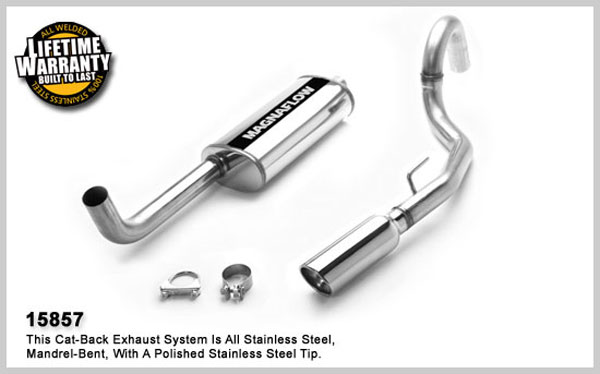 Magnaflow 15857:  Exhaust System for JEEP TRUCK GRAND CHEROKEE LAREDO 1993-1997
