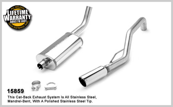 Magnaflow 15859:  Exhaust System for JEEP TRUCK GRAND CHEROKEE LAREDO 1999-2004