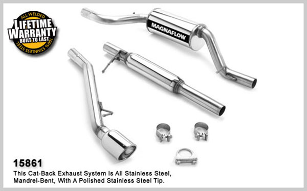 Magnaflow 15861:  Exhaust System for MAZDA 3 2004-2006