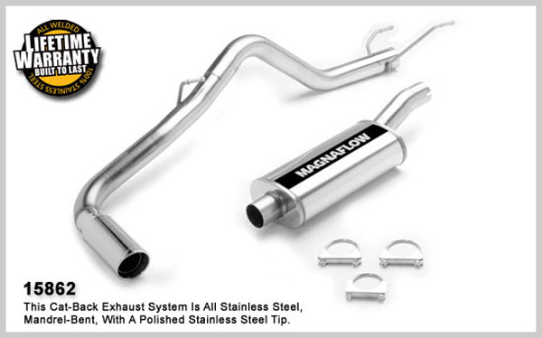 Magnaflow 15862:  Exhaust System for DODGE RAM 1500 TRUCK 2004-2005