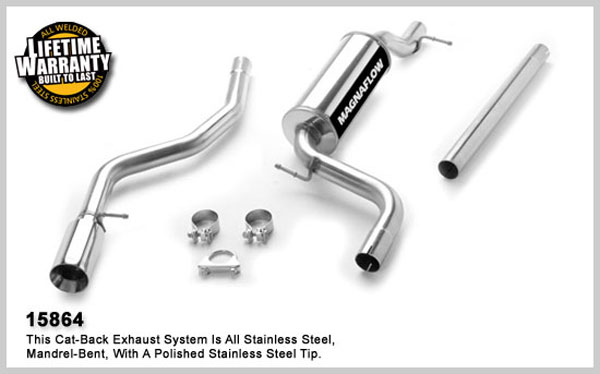 Magnaflow 15864:  Exhaust System for FORD FOCUS LX 2004-2006