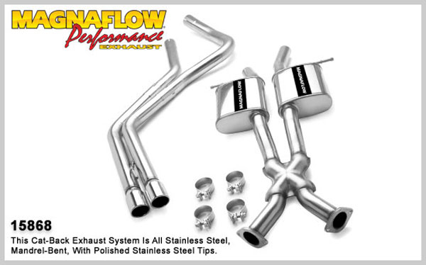 Magnaflow 15868:  Exhaust System for PONTIAC GTO 2004