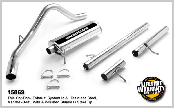 Magnaflow 15869:  Exhaust System for FORD F-250 SUPER DUTY PICKUP 1999-2004