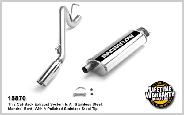 Magnaflow 15870:  Exhaust System for JEEP TRUCK LIBERTY LIMITED 2004-2006