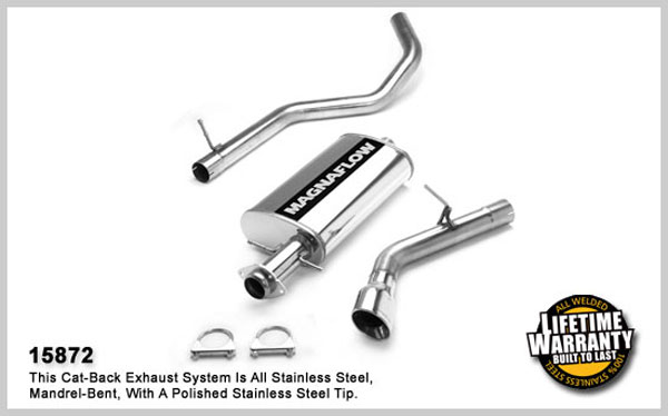 Magnaflow 15872:  Exhaust System for FORD NAVIGATOR 2003-2006