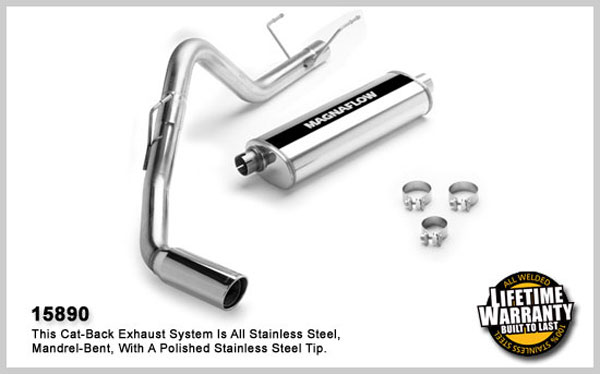 Magnaflow 15890:  Exhaust System for DODGE RAM 1500 TRUCK 2004-2005