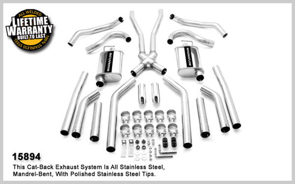 Magnaflow 15894:  Exhaust System for BUICK GS 350 1968-1973