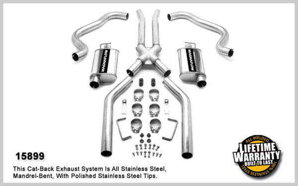 Magnaflow 15899:  Exhaust System for CAMARO V8 1967-1973