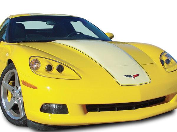 RKSport 16011000 | Corvette C6 Supercharger Hood; 2005-2013