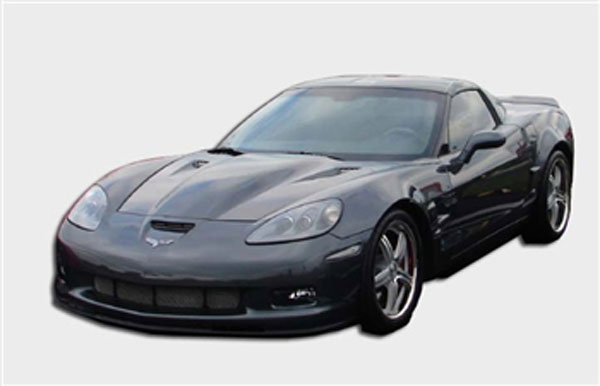 RKSport 16011002:  Corvette C6 Violator Supercharger Hood 2005-13