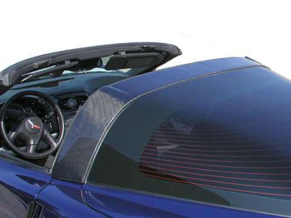 RKSport 16015007 | Corvette C6 Fiberglass Halo Cover; 2005-2013