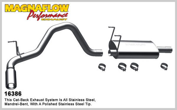 Magnaflow 16386:  Exhaust System for 2009-11 Dodge Ram 1500