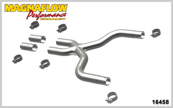 Magnaflow 16458:  2010 Mustang V6 4.0L Tru-X V8 Conversion Kit