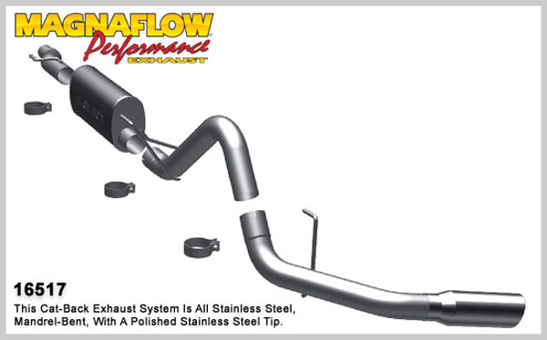 Magnaflow 16517:  Exhaust System for 2009 F-150 SC/SB single